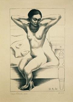 Frida por Diego Rivera