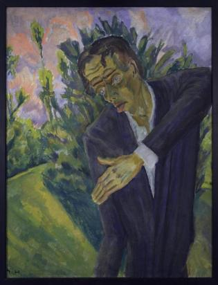 Erich Heckel, Roquairol (1917). Foto: via Wikimedia Commons.